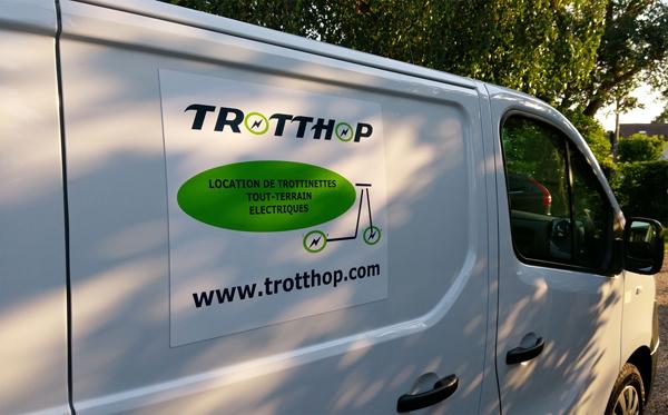 le camion Trotthop